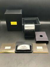 Luxury Watch Box BREITLING 1884 Genuine Paperwork Retro BLACK Leather HERITAGE !