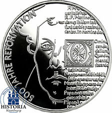 Deutschland 20 Euro Silbermünze 2017 PP 500 Jahre Reformation - Martin Luther