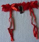 Porte jarretelle femme rouge taille M - L ou XL - XXL neuf