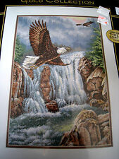 Counted Cross Stitch Dimensions GOLD COLLECTION KIT,EAGLE'S MAJESTY,35225,USA