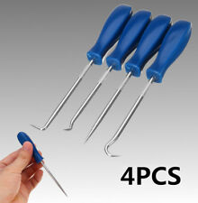 4Pcs Car Pick and Hook Set O Ring Oil Seal Gasket Puller Remover Hand Craft Tool