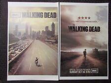 "THE WALKING DEAD 11x17"" Mini TV Series Poster FN+/VF- LOT of 4"