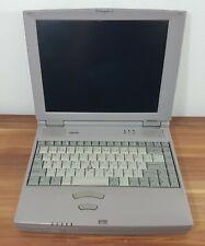 "Win95 Laptop Toshiba Satellite 300CDS Penitum 166 MMX 3,5"" Floppy CD-Rom Vintage"