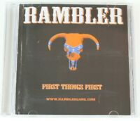 First Things First * by Rambler (CD, Mar-2004, Rambler Records)