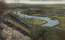 Antique POSTCARD c1907-20 Vista Incline Lookout Mountain CHATTANOOGA, TN 13890