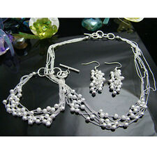 925Sterling Silver Jewelry Sandy Grapes Accessories Necklace Bracelet Earrings