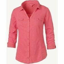 Women's Semi Fitted No Pattern V Neck Tops & Shirts