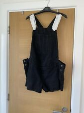 New Look Maternity Dungaree Shorts Size 12