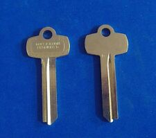 "TWO NICKEL SILVER LOOKS LIKE BEST KEY BLANKS FOR ""D""  KEYWAY"