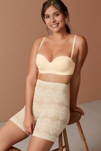 Next NudeLight Control Lace Thigh Smoother, Size 10
