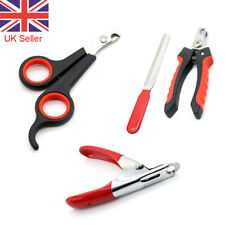 Pet Nail Clippers Claw Cutters Trimmers Tool Dog Cat Rabbit Animal Scissors UK