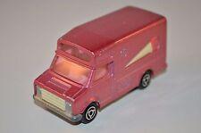 Majorette Fourgon ice cream van PINK 1:67 near mint in all original condition