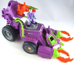 DC COMICS Batman THE JOKER Purple Scorpion TANK Vehicle With FIGURE Toy