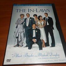 The In-Laws (DVD, 2003, Full Screen) Michael Douglas, Albert Brooks Used
