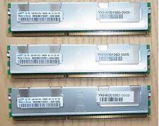 Server RAM 12 GB 3x 4GB DDR3 PC3 10600 REG ECC DIMM 240 SAMSUNG M393B5170DZ1-CH9