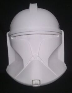 Star Wars Clone trooper Phase 1  Raw 1:1 Full size helmet Movie Prop Replica