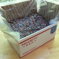 GLITTER BULK 5 pound box A LOT of glittering sparkle Made in USA