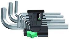 Wera 950 / 9SM Hex Allen Clé Set avec clip * 1.5 mm - 10mm