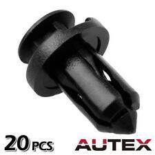 20x Nylon Front Bumper Cover Trim Clips Rivet Retainer for Infiniti EX35 EX37