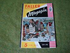 Faller ams   - Magazin Nr. 5