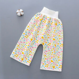 Baby Comfy Children's Diaper Waterproof And Leakproof Elastic Waist Loose Shorts
