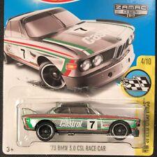 Hot Wheels ZAMAC 007 2017 '73 BMW 3.0 CSL Race Car HW Speed Graphics 4/10 FBJ03