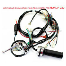 COMPLETE WIRING HARNESS ASSEMBLY CONTROL SWITCH FOR HONDA Z50 GORILLA MONKEY