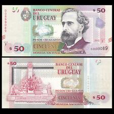 Uruguay 50 Pesos Uruguay, 2015(2017), P-NEW,  SERIE F, UNC