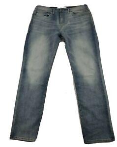 Signature Levi Strauss & Co.S37 Slim Jeans Light Wash Mens Sz 34X32 Nice