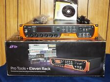 Avid Eleven Rack -w- Expansion Pack (Never Used)  Used Pro Tools 8 for Win 7 &10