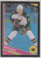 2013-14 O-Pee-Chee #283 Mikko Koivu Minnesota Wild Black Rainbow 100/100