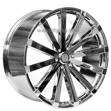 "4pcs 22"" Velocity Wheels VW12 Chrome Rims"