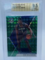 2019-20 Mosaic Zion Williamson Rookie Green Prizm BGS 9.5 Gem Mint 🔥  PSA 10?
