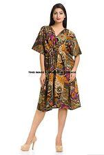 Caftan robe longue marocaine abaya dubai courte arabe farasha taille unique uk 8-24