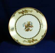 Noritake Burma 71854 Luncheon Plate Field Mark Floral and Birds Japan bfe2193