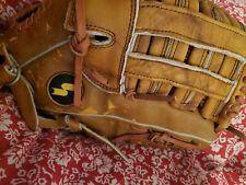 "SSK SSB 14"" Pennant Series Baseball Softball Glove USA Steerhide Leather Mitt"