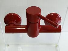 armatures de douche rouge (RAL 3003), robinetterie douche, Robinet «Laurana»