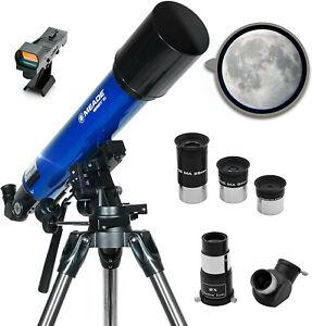 Meade Instruments Infinity 90mm Aperture, Portable Refracting Telescope