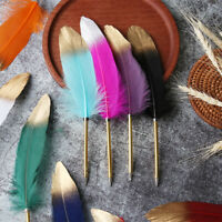 Gift Novelty Stationery Ballpoint Pens Feather Pen Writing Tool Signature