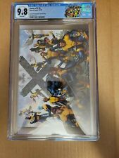 House of X #4 Second Printing Molina Cover CGC 9.8