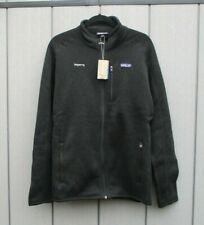"""Mens Patagonia Better Sweater Fleece Jacket Black 44"""" Chest Brand New With Tags"""