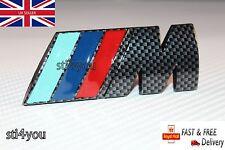 Efecto de fibra de carbono de alimentación M Tech tronco posterior Arranque Insignia Emblema Pegatina Sport