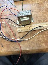 Tube amp bias transformer 25 and 33 V, Or control transformer