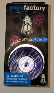 Yoyo Factory Purple Splash Nightmare - Bi Metal Non-Responsive 1A Trick Throw