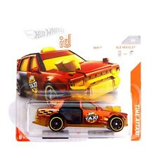 Hot Wheels 1/64 3 inch Time Attaxi Chase iD series short card