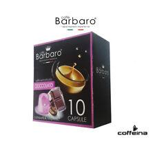 10 capsule Barbaro caffè aromatizzato Cioccolato compatibili Nespresso COFFEINA