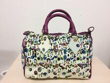 Desigual bowling bag women handbag rare zip
