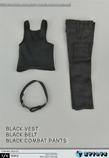 NEW ZYTOYS 1/6 Black vest Combat trousers suit