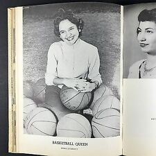 1953 Electra High School Yearbook  Electra TX BENGAL 1950s Fashions 50s