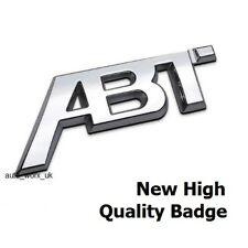 ABT SPORTS LINE Badge Emblem Decal Rear Boot Tailgate VW Golf Audi Seat Skoda 1r